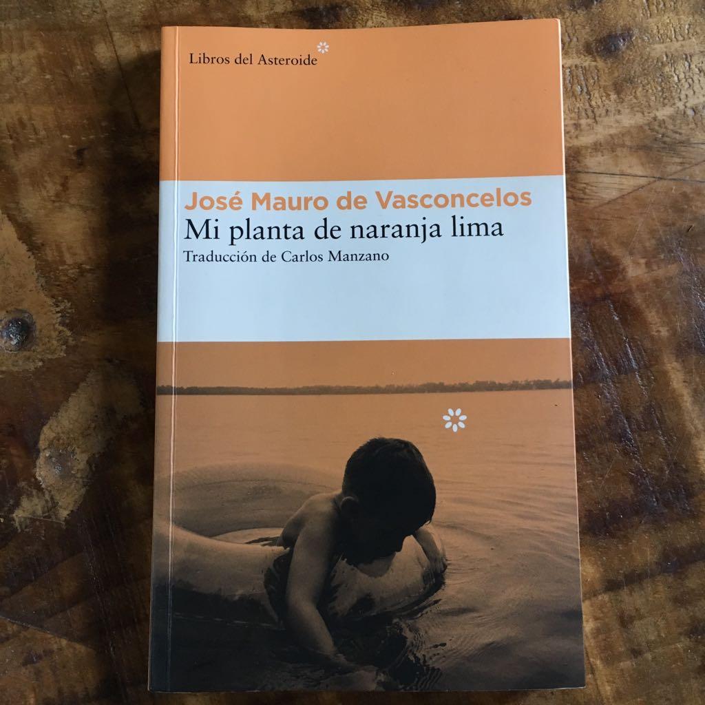 Mi planta de naranja lima libro emocional